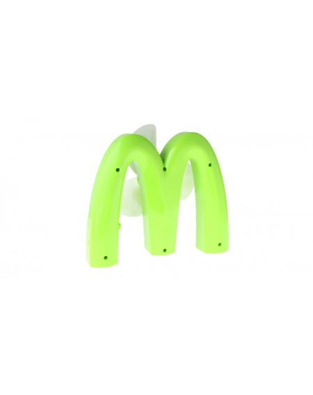 "Creative ""M"" Shaped Mini Rechargeble Cooling Fan"
