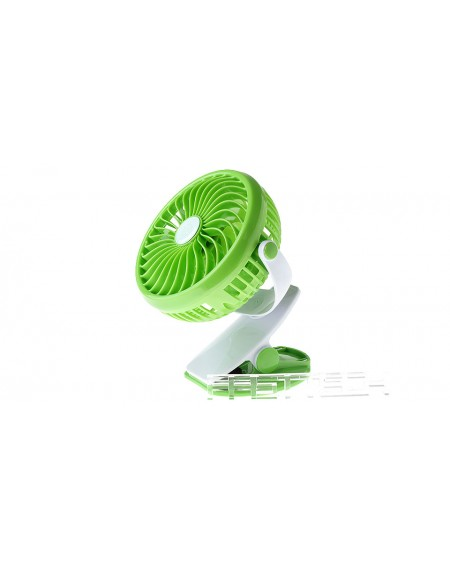 USB / Battery Powered Clip-on Mini Cooling Fan