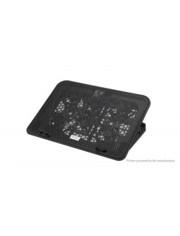 ICE COOREL A9 6-Fan Cooler Cooling Pad Stand Holder for Laptop / Notebook