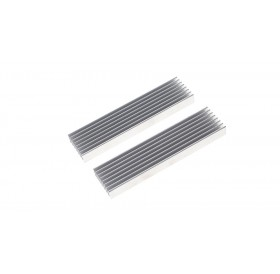 100*25*10mm Aluminum Heatsink (2-Pack)