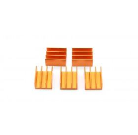 20*16*10mm Aluminum Heatsink (5-Pack)