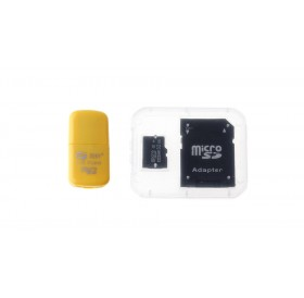 32GB microSDHC Memory Card w/ Card Adapter and Card Reader