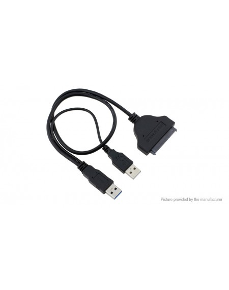 USB 3.0 to SATA Cable Adapter (50cm)
